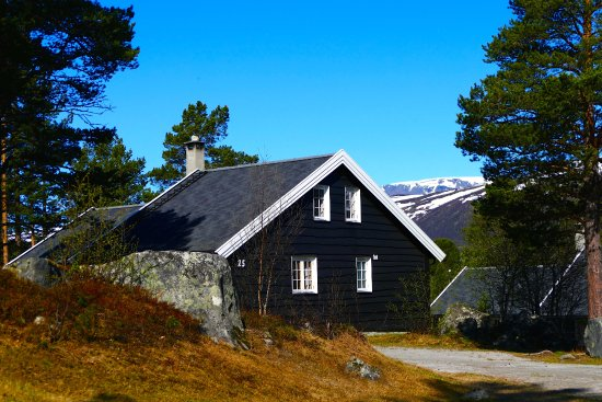 Entrance - Picture of Geilolia Hyttetun (Forest Cabins) - Tripadvisor