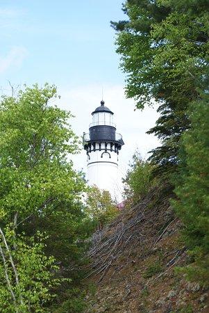 Grand Marais, MI: Der Leuchtturm