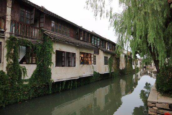 Kunshan, China: 岸邊照