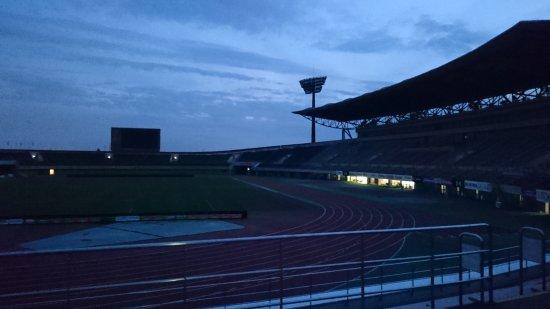 Kumagaya, Japón: アルディージャvsガンバ試合前夜