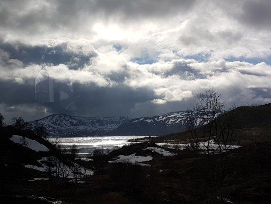 Hovden, Norvège : Las montañas