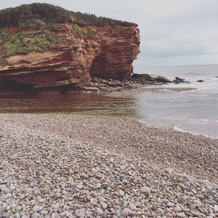 Budleigh Salterton, UK: Beach