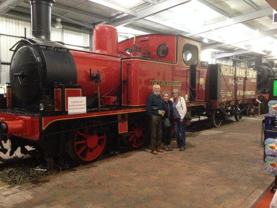 Kidderminster, UK: Carol with George and Margaret