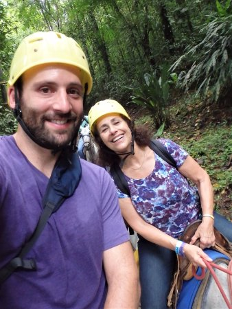 Quepos, Costa Rica: with my mom