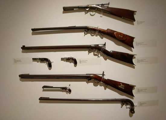 Shelburne, VT: Firearms in the Tyler collection.