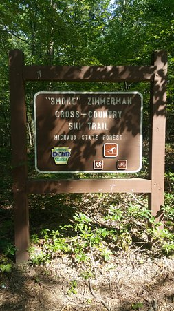 Michaux State Forest: Great place to walk/hike or bike year-round.