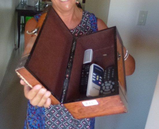 San Ignacio, Messico: I telecomandi !