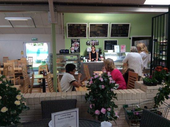 Dartford, UK: The counter area