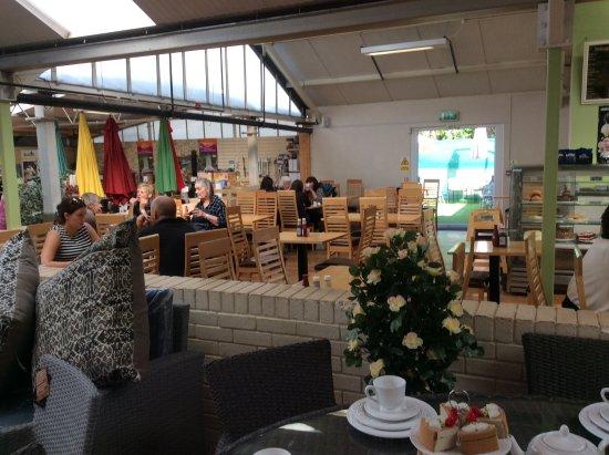 Dartford, UK: The cafe seating