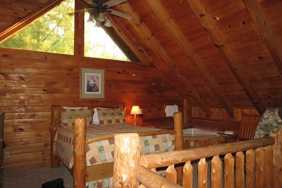 Brotheru0027s Cove Log Cabin Rentals: Mountain Laruel Cabin  One Bedroom Was In  Loft