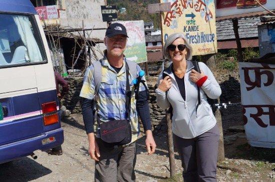 Kathmandu Valley, Nepal: Trek start