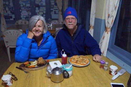 Kathmandu Valley, Nepal: Dining on trek