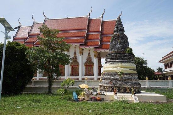 Samut Songkhram, Tailândia: เจดีย์สวยค่ะ