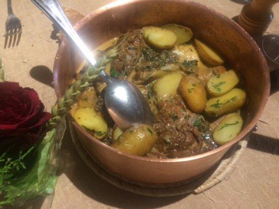Pouillon, ฝรั่งเศส: Ris de veau Morilles