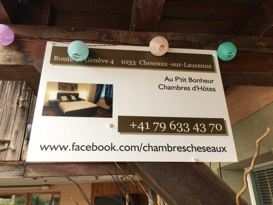 Cheseaux-sur-Lausanne, Suisse : Joli ensemble de 4 chambres dans un appartement au calme, centre du village et des moyens de com