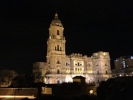 Petit Palace Plaza Malaga: Die Kathedrale
