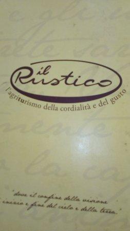 Arcevia, Italy: Distintivo che riassume quello che dona la struttura.