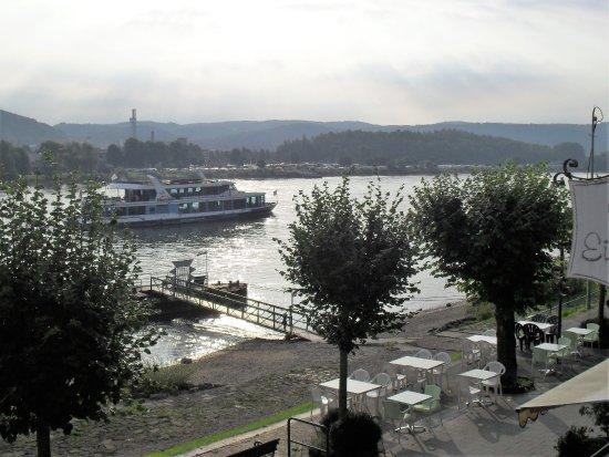 Bad Breisig, Germany: Uitzicht vanuit de kamer,geen verkeerslawaai !
