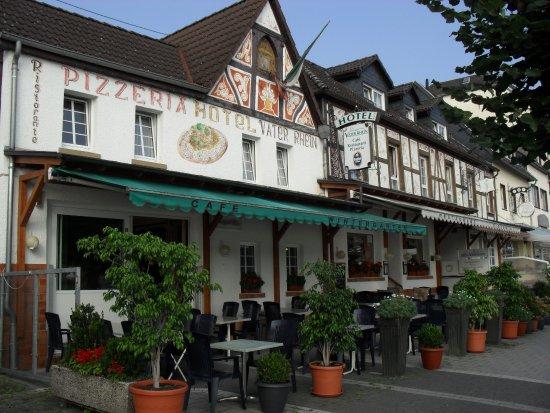 Bad Breisig, Germany: Het gezellige terras van het restaurant