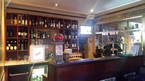 Burton upon Trent, UK: Bar area