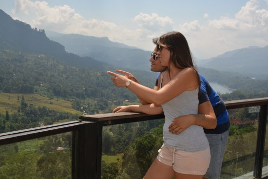 Blessrilanka Tours: With my ever friend Angel from Spain enjoy the nature