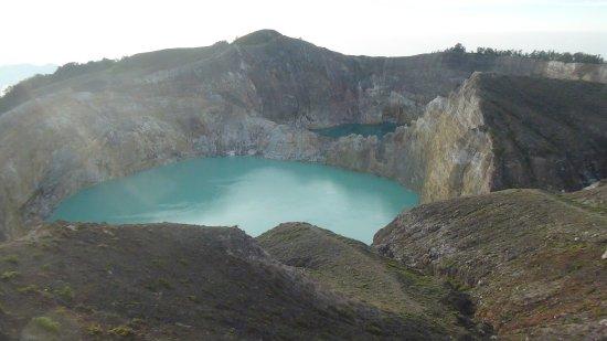 Mount Kelimutu: La coppia di laghi