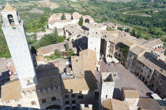 Palazzo Pubblico e Torre Grossa: Vista dalla torre