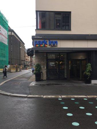 Park Inn by Radisson Oslo: ingresso