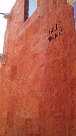 Monasterio de Santa Catalina: Calle Malaga