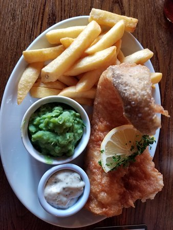 Duke of Wellington: Fish and chips