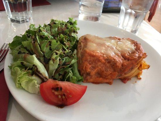 La Palud sur Verdon, Francia: Не вкусная лазанья.