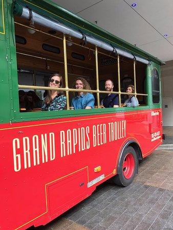Experience Grand Rapids Team Retreat Picture Of Grand Rapids Beer Trolley Tripadvisor
