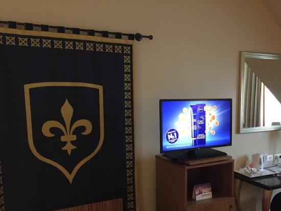 Vienna House Dream Castle Paris: Fernseher