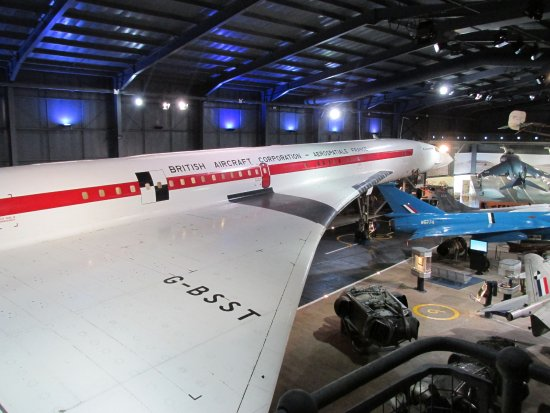 Ilchester, UK: Concorde at the Fleet Air Arm Museum
