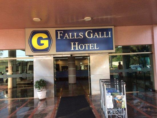 Falls Galli Hotel: Entrada do Hotel