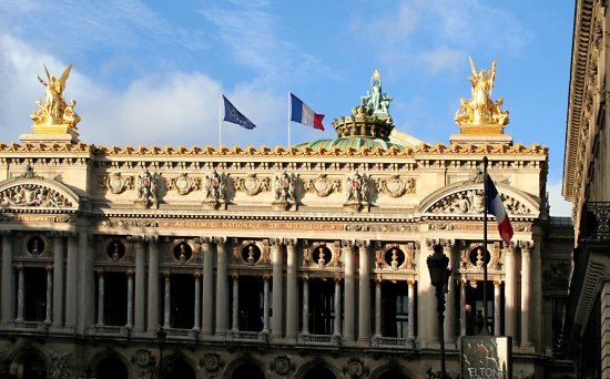 Opera district Photo