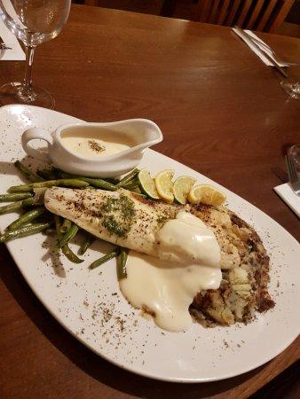 Christleton, UK: Grilled Cod Special