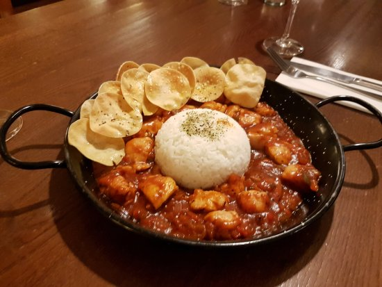 Christleton, UK: Chicken Curry Special