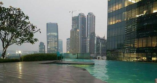 Street View Dari Kamar Suite Picture Of Manhattan Hotel Jakarta