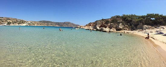 Amoopi, اليونان: Spiaggia