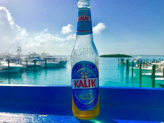 Bimini: Kalik with a view