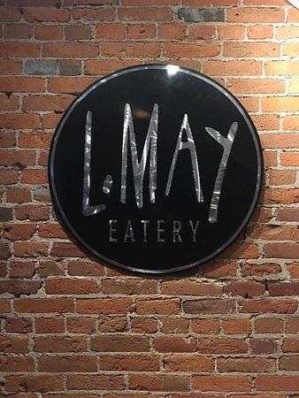 L.May Eatery: Logo Art