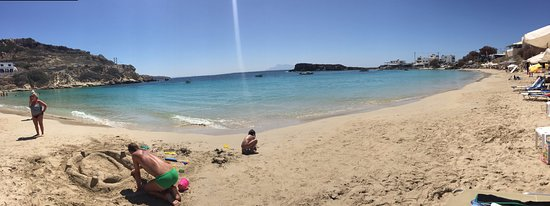 Lefkos Beach: Perfect beach!