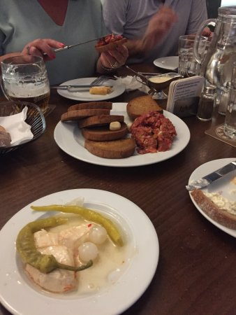 Prague Food Tour: Traditional Czech food in Medvidku Beer Hall