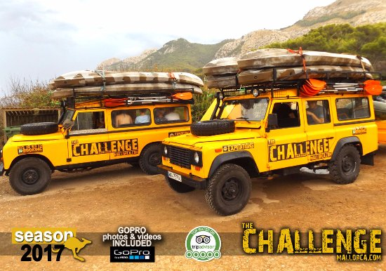 The Challenge Mallorca jeep adventure trip in alcudia mallorca natural areas majorca