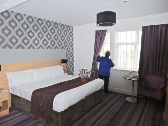 Scotch Corner, UK: Room 218