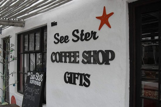 St. Helena Bay, Güney Afrika: Die See Ster Coffee Shop