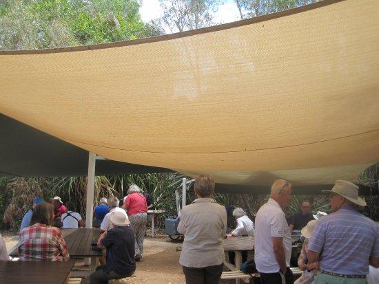 Kununurra, Australia: Riverside picnic site