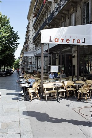 Restaurant Café Latéral Paris - soonnight.com
