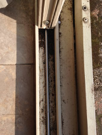 Dirt In The Sliding Glass Door Frame Picture Of Cathedral Ledge